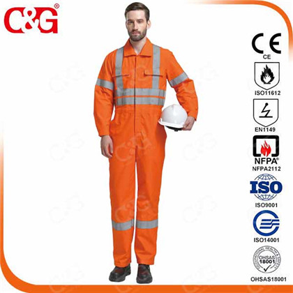 industrial fire resistant clothing