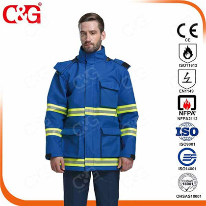 2xl long flame resistant and arc flash jackets and